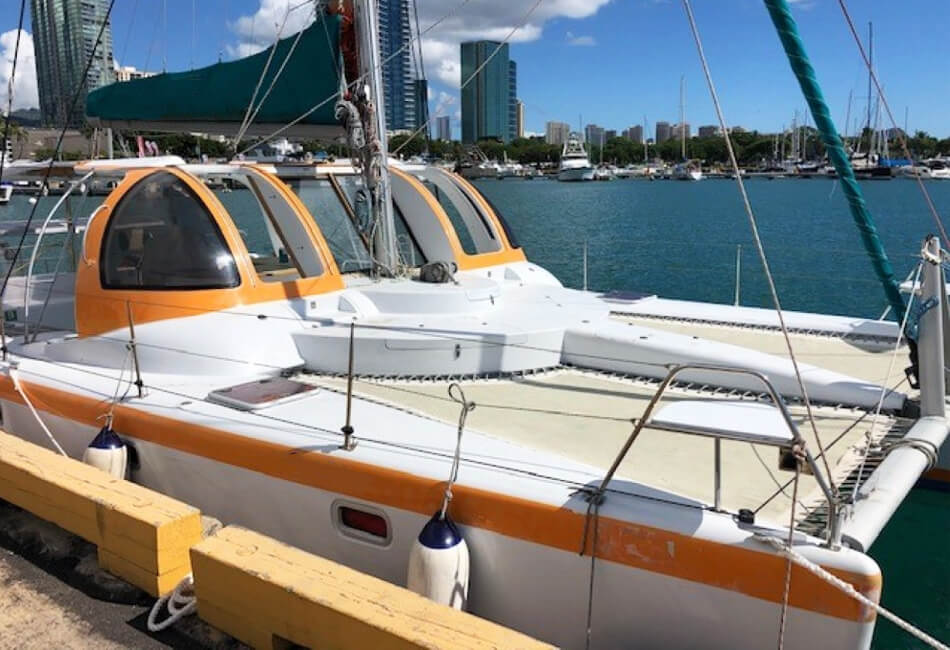 40 Ft Sailing Catamaran